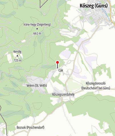 Map / Cáki pincesor