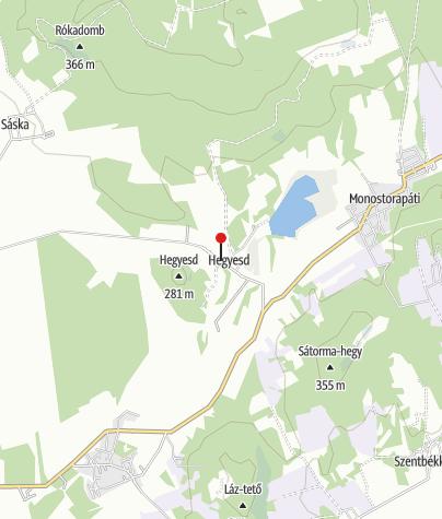 Mapa / Hegyesd Kultúrház