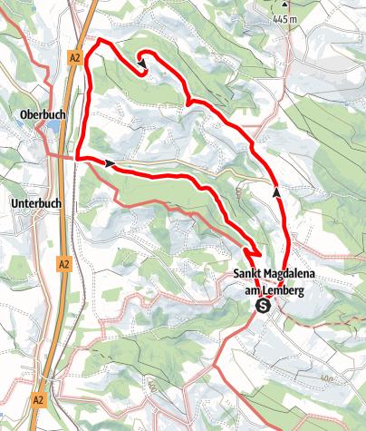 Karte / M2 Buchenberg-Weg