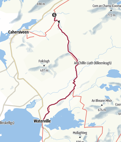 Map / Foilmore to Waterville