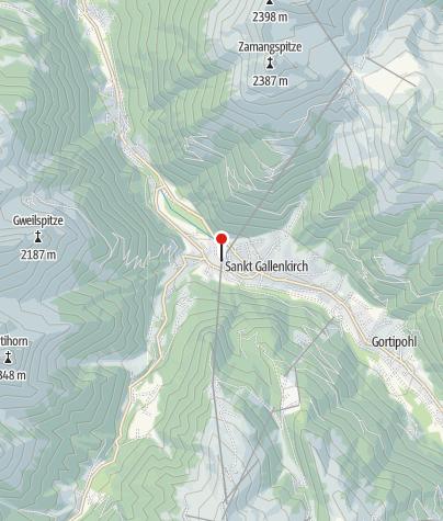 Karte / Grasjoch Bahn