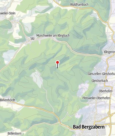 Karte / Karlsplatzhütte (PWV Klingenmünster)