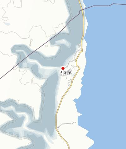 מפה / הגן הבוטני של קיבוץ עין גדי