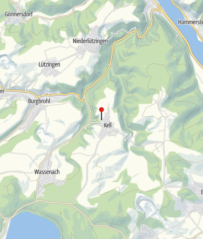 Karte / Ferienwohnung Koch in Kell