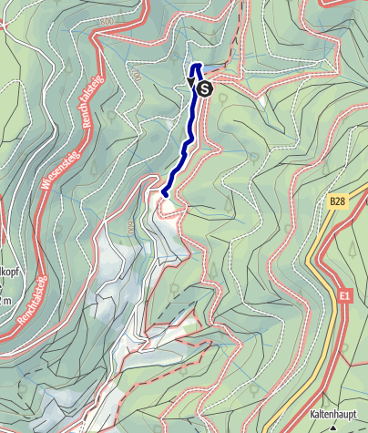 Karte / Wandern für Familien: Märchen-Schatzsuche in Bad Peterstal-Griesbach