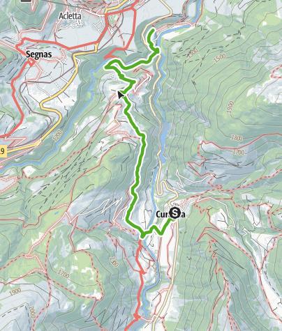 Karte / Von Curaglia - zum Goldwäschersteak