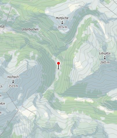Karte / Hasahüsli Silbertal