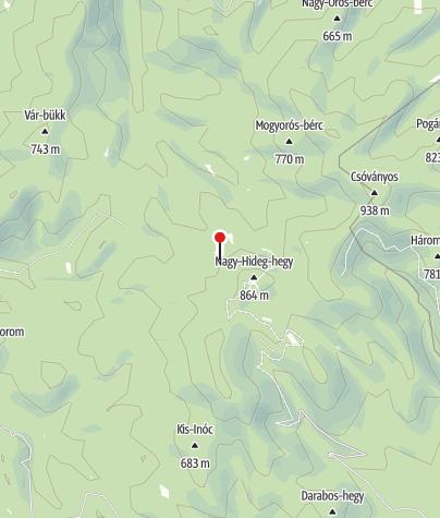 Térkép / Hanák-rét