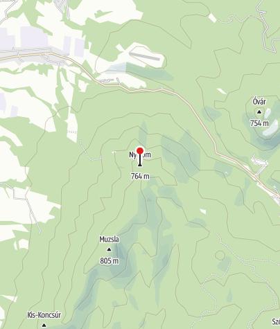 Térkép / Gortva-Jójárt-kilátó és menedékház