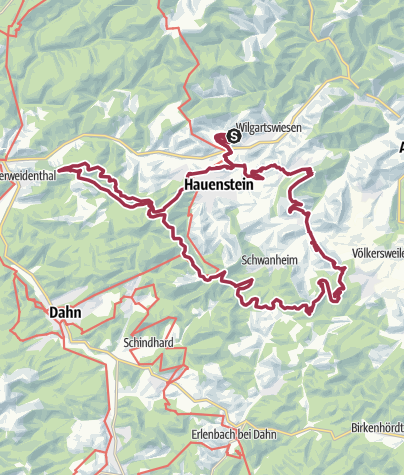 Map / Waldläufer-Marathon