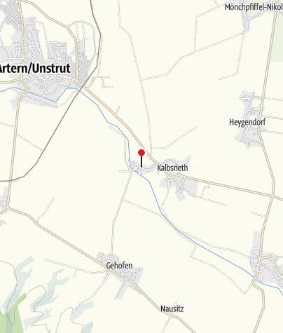 Karte / Zimmervermietung Ritteburg
