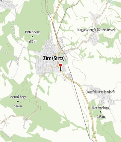 Térkép / MOL kút (Zirc, Kossuth Lajos út)