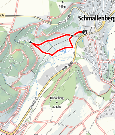Karte / Philosophenpfad Schmallenberg