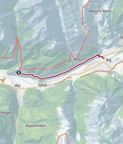 Map / Lötschberger Südrampe