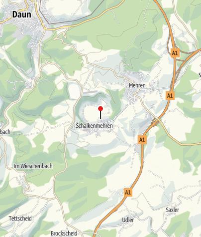 Karte / WP 2 Schalkenmehrener Maar