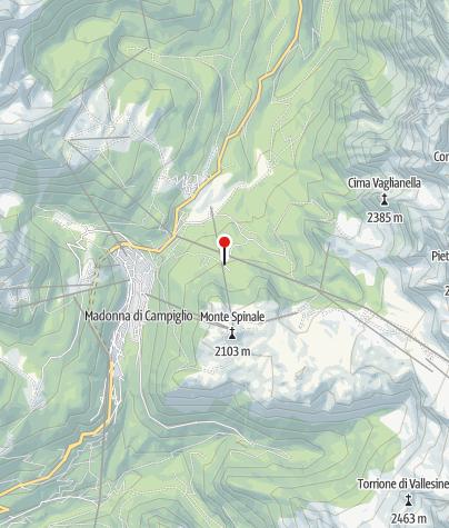 Map / Malga Montagnoli