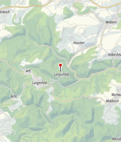 Kaart / Wabelsberger Wacholderhütte in Langscheid