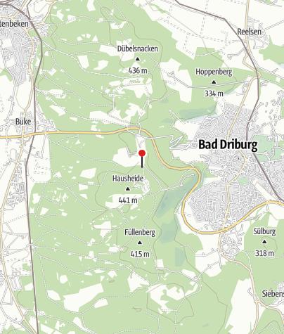 Kaart / Driburger Hütte (Rettungspunkt 9)