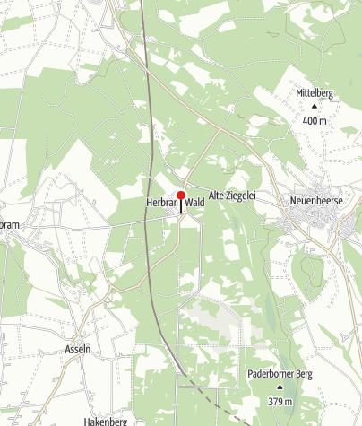 Kaart / Herbram-Wald (Rettungspunkt 13)