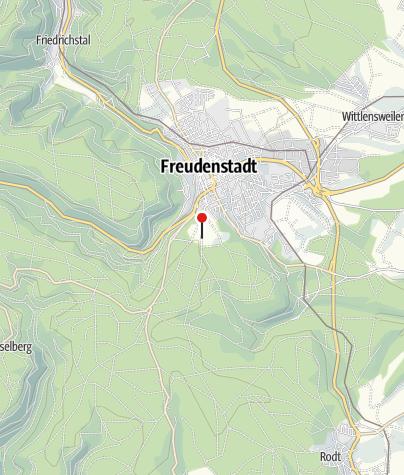 Karte / Friedrichs am Kienberg