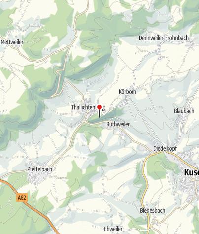 Carte / Burg Lichtenberg / Thallichtenberg