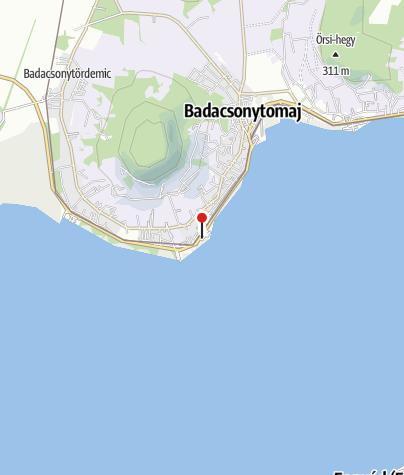 Mapa / MOL kút (Badacsonytomaj, 71.sz. főút)