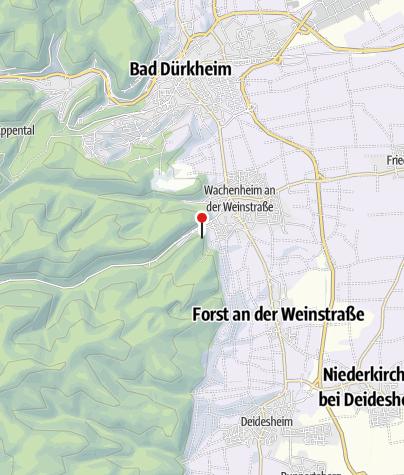 Karte / Burgruine Wachtenburg