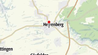 Karte / Bahnhof Herrenberg