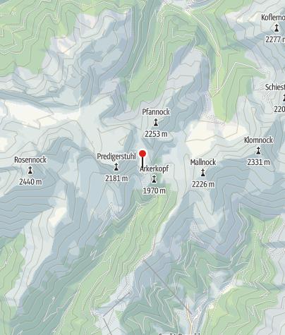 Karte / Erlacher Bockhütte