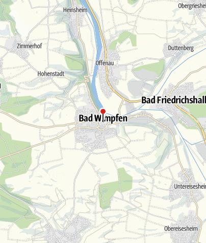 Karte / Kaiserpfalz Bad Wimpfen