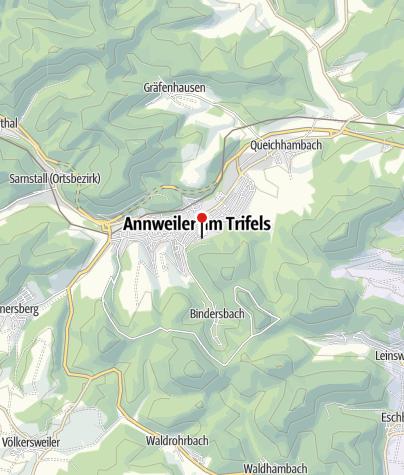 Karte / Naturfreundehaus Annweiler