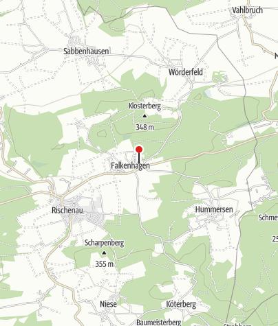 Kaart / Kloster Falkenhagen