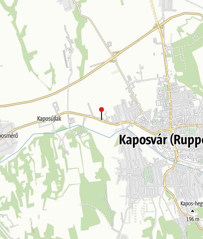 Map / MOL kút (Kaposvár, Kanizsai u.)