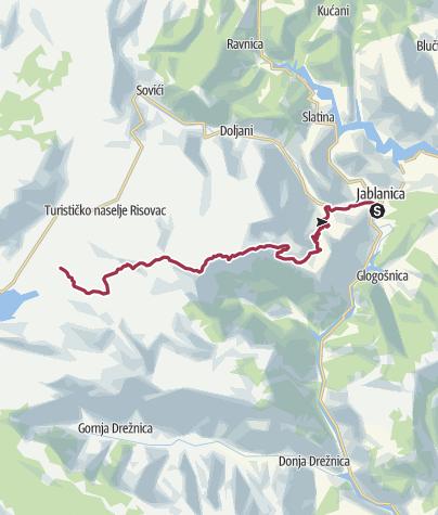 Map / Emiliano: Jablanica-Plasa-Cvrsnica-Blidinje