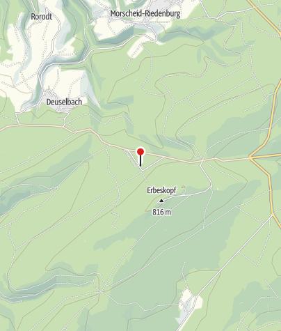 Map / Hunsrückhaus