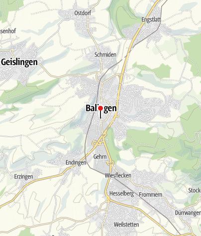 Karte / Hotel-Gasthof Lang