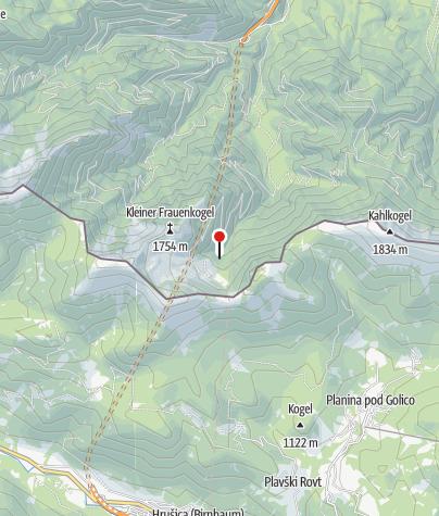 Karte / Rosenkogel-Hütte