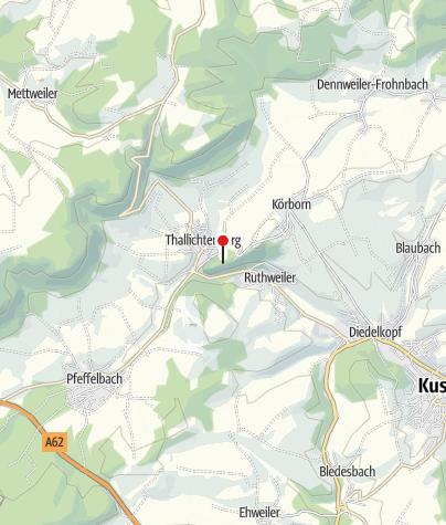 Map / Zweigstelle Pfalzmuseum für Naturkunde, Burg Lichtenberg