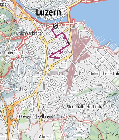 Map / Neustadt walking route