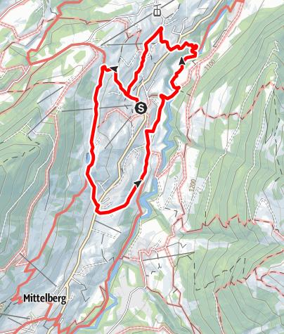 Map / Round trip Hirschegg