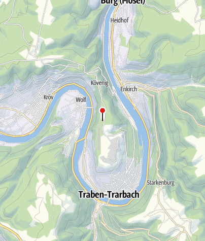 Karte / Mosel Adventure Forest - Kletterwald