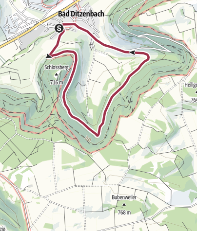 Karte / Maiweg
