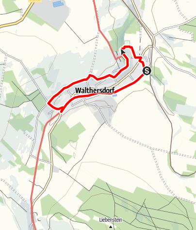 Karte / Walthersdorfer Sparrguschenwaag