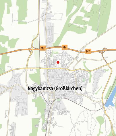 Térkép / MOL kút (Nagykanizsa, Garay u. 15.)