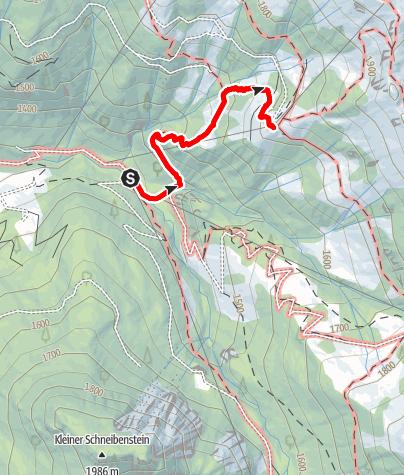 Map / Grossarl: Weissalm