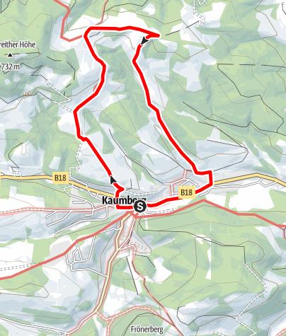 Map / Fuchsweg (Rundwanderweg Kaumberg)
