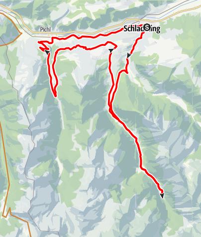Mapa / Rohrmoos Tour