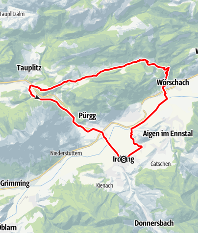Karte / Spechtensee Runde