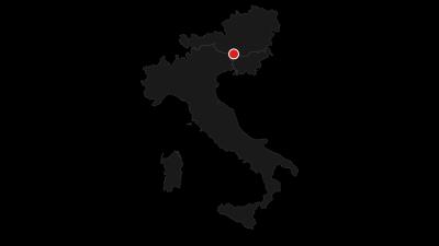 Karte / Panoramaweg- Südalpen gesamt