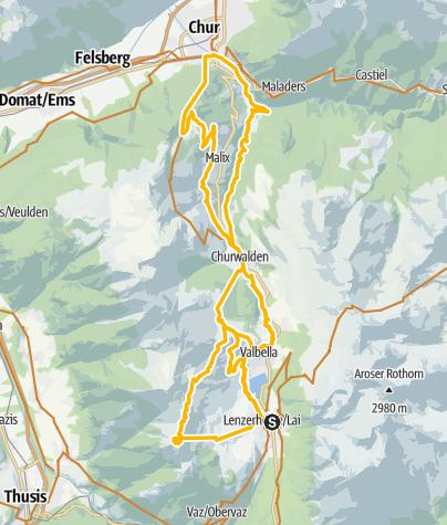 Karte / 615 Biketicket to RIDE (blau)
